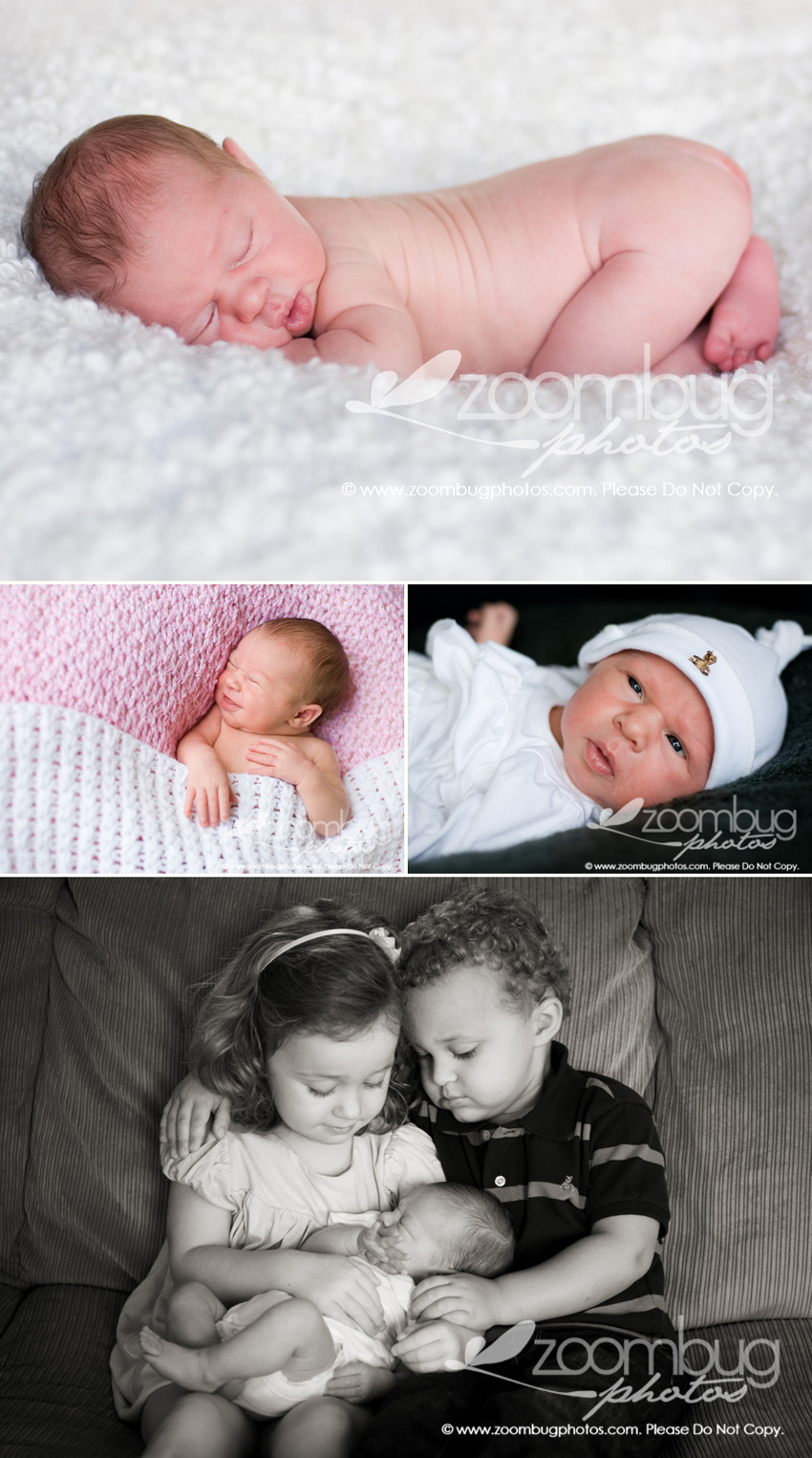 Newborn Pictures with Siblings http://www.zoombugphotos.com/2011/6-days-old-newborn-photography-lexington-ky/
